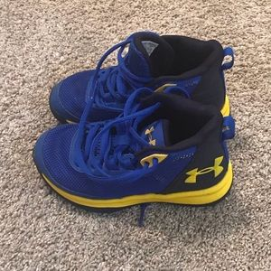 Under Armour Toddler size 11 boys sneakers